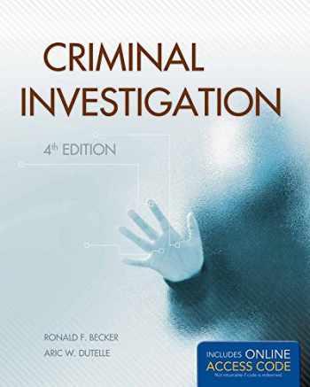 9781449650544-1449650546-Criminal Investigation