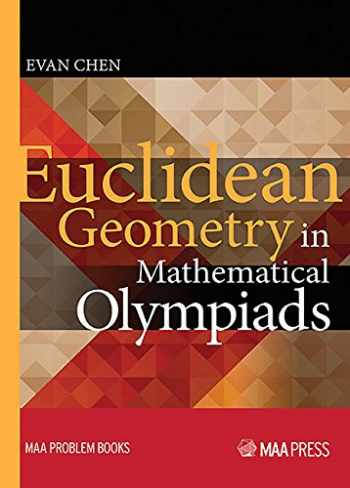9780883858394-0883858398-Euclidean Geometry in Mathematical Olympiads (Maa Problem)
