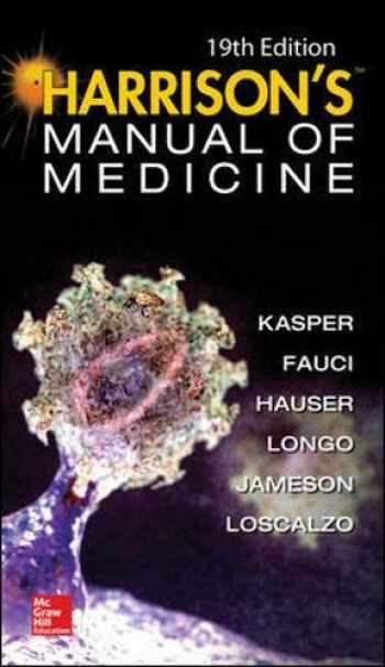 9780071828529-0071828524-Harrisons Manual of Medicine, 19th Edition