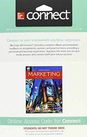 9781259737961-1259737969-Connect Access Card for Marketing