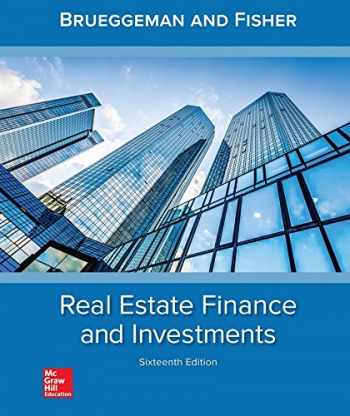 9781259919688-1259919684-Real Estate Finance & Investments (Real Estate Finance and Investments)