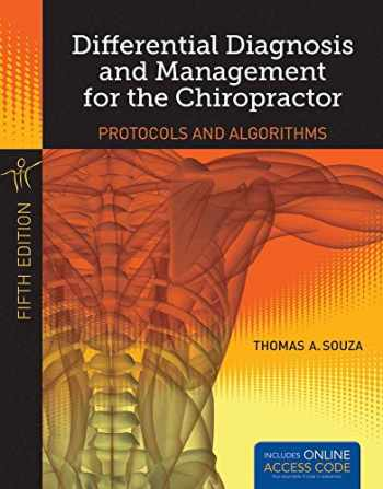 9781284022308-1284022307-Differential Diagnosis And Management For The Chiropractor
