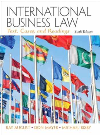9780132718974: international business law (6th edition) abebooks.
