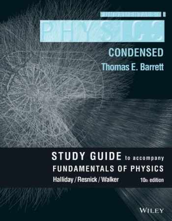 9781118230787-1118230787-Student Study Guide for Fundamentals of Physics, 10e