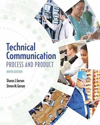 9780134094038-0134094034-Technical Communication: Process and Product (9th Edition)