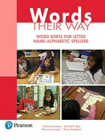 9780134529790-0134529790-Words Their Way: Word Sorts for Letter Name - Alphabetic Spellers (3rd Edition) (Words Their Way Series)
