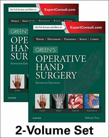 9781455774272-1455774278-Green's Operative Hand Surgery, 2-Volume Set, 7e