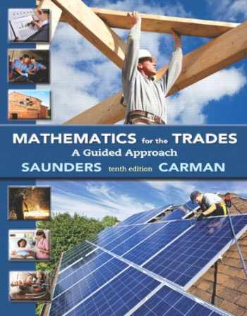 9780321945297-0321945298-Mathematics for the Trades: A Guided Approach Plus MyLab Math Access Card (10th Edition)