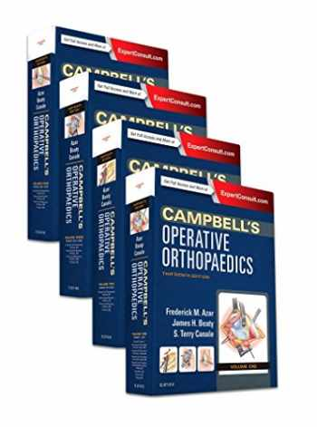 Campbell's Operative Orthopaedics, 4-Volume Set, 13e