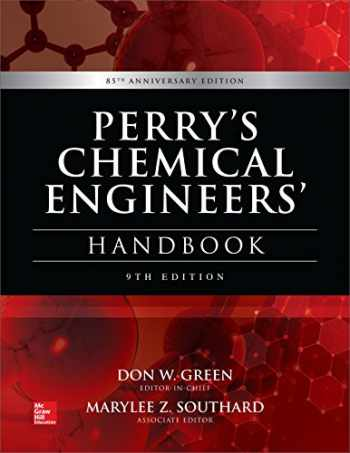 9780071834087-0071834087-Perry's Chemical Engineers' Handbook, 9th Edition