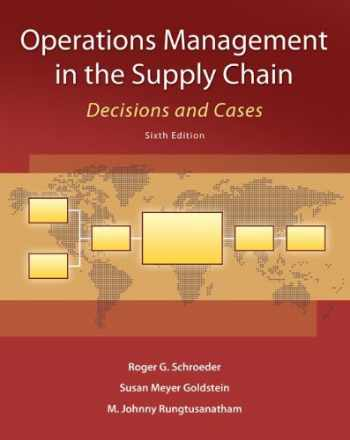 9780073525242-0073525243-Operations Management in the Supply Chain: Decisions and Cases (McGraw-Hill/Irwin Series in Operations and Decision Sciences)