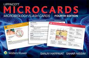 9781451192353-1451192355-Lippincott Microcards: Microbiology Flash Cards