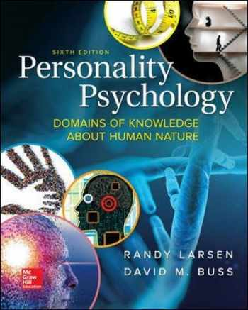 9781259870491-1259870499-Personality Psychology: Domains of Knowledge About Human Nature