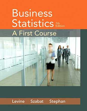 9780321979018-032197901X-Business Statistics: A First Course (7th Edition)