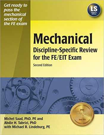 9781591260653-1591260655-Mechanical Discipline-Specific Review for the FE/EIT Exam, 2nd ed.