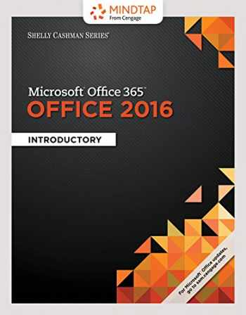 9781337353069-133735306X-Bundle: Shelly Cashman Series Microsoft Office 365 & Office 2016: Introductory, Loose-leaf Version + LMS Integrated MindTap Computing, 1 term (6 months) Printed Access Card