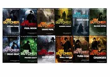 9780536993014-0536993017-Jim Butcher the Dresden Files Series Set (Book 1-12): Storm Front, Full Moon, Grave Peril, Summer Knight, Death Masks, Blood Rites, Dead Beat, Proven Guilty, White Night, Small Favor, Turn Coat, Changes,