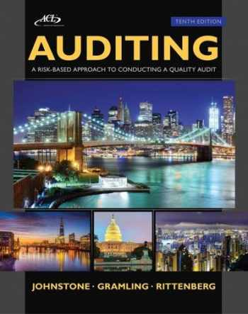 Auditing: A Risk Based-Approach to Conducting a Quality Audit (with ACL CD) (Newest Edition)