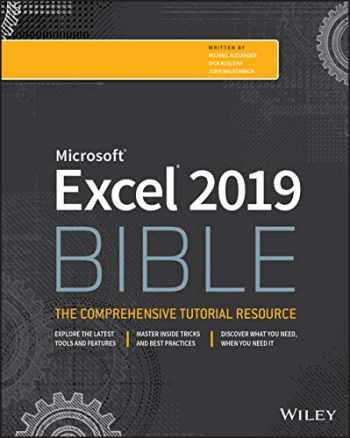 9781119514787-1119514789-Excel 2019 Bible