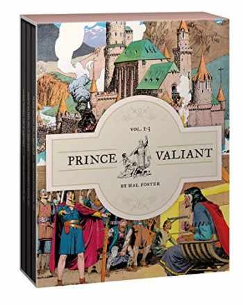 9781683960720-1683960726-Prince Valiant Vols. 1-3: Gift Box Set (Vol. 1-3) (Prince Valiant)