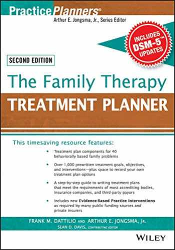 9781119063070-1119063078-The Family Therapy Treatment Planner, with DSM-5 Updates, 2nd Edition (PracticePlanners)