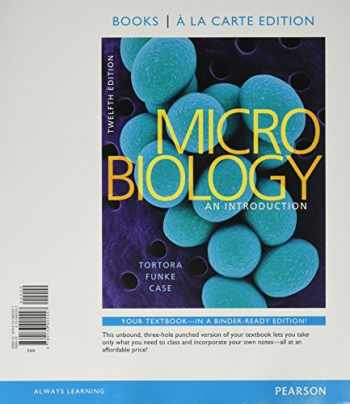 9780134191232-0134191234-Microbiology: An Introduction, Books a la Carte Edition and Modified Mastering Microbiology with Pearson eText & ValuePack Access Card (12th Edition)