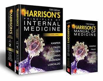 9781260128857-1260128857-Harrison's Principles of Internal Medicine 19th Edition and Harrison's Manual of Medicine 19th Edition VAL PAK