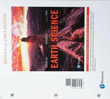 9780134610115-0134610113-Earth Science, Books a la Carte Edition (15th Edition)