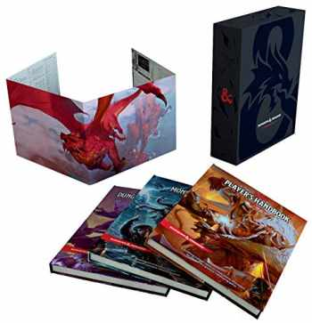 9780786966622-0786966629-Dungeons & Dragons Core Rulebooks Gift Set (Special Foil Covers Edition with Slipcase, Player's Handbook, Dungeon Master's Guide, Monster Manual, DM Screen)