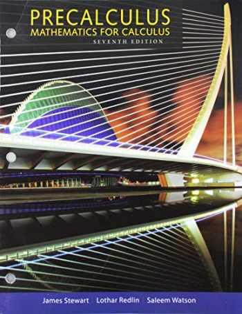 9781305701618-1305701615-Bundle: Precalculus: Mathematics for Calculus, 7th + WebAssign for Stewart/Redlin/Watson's Precalculus, Enhanced Edition, Single-Term Printed Access Card