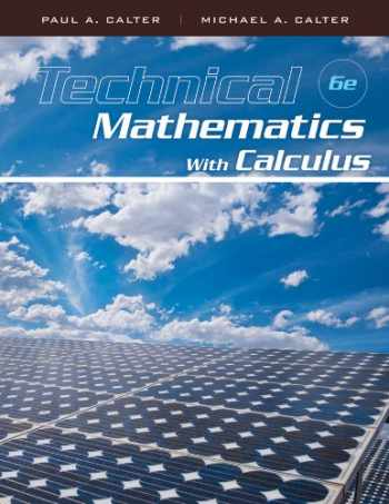 9780470464724-0470464720-Technical Mathematics with Calculus