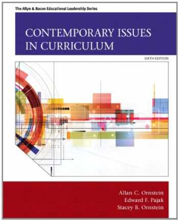 9780133259971-0133259978-Contemporary Issues in Curriculum (6th Edition) (Allyn & Bacon Educational Leadership)