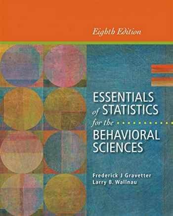 9781133956570-1133956572-Essentials of Statistics for the Behavioral Sciences