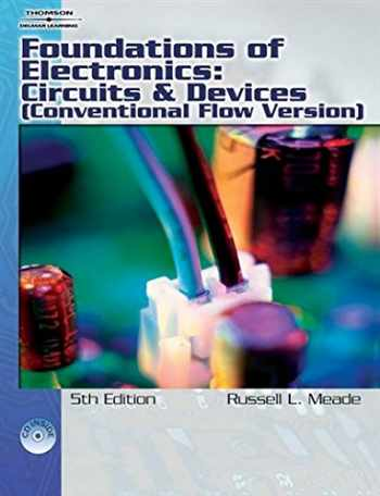 9781418005412-141800541X-Foundations of Electronics: Circuits & Devices Conventional Flow