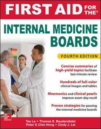 9781259835032-1259835030-First Aid for the Internal Medicine Boards, Fourth Edition