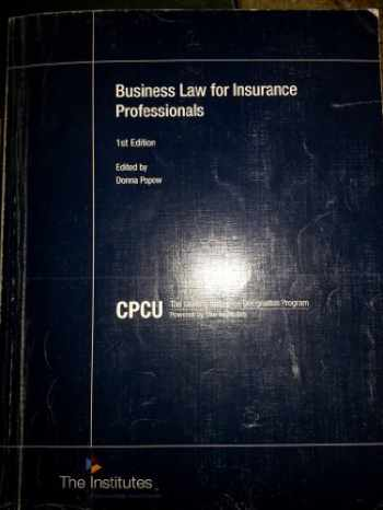 9780894634239-0894634232-Business Law for Insurance Professionals