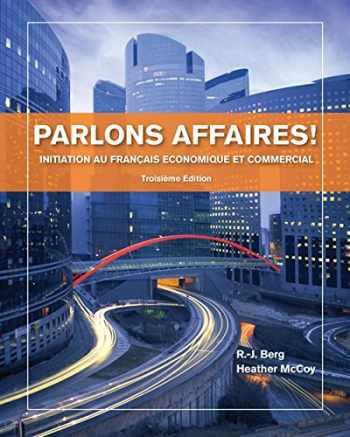 9781133311256-1133311253-Parlons affaires!: Initiation au français economique et commercial (World Languages)