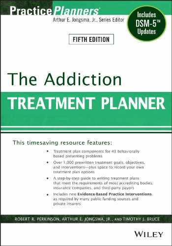 9781118414750-1118414756-The Addiction Treatment Planner: Includes DSM-5 Updates