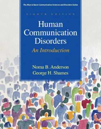 9780137061334-0137061331-Human Communication Disorders: An Introduction (8th Edition) (Allyn & Bacon Communication Sciences and Disorders)