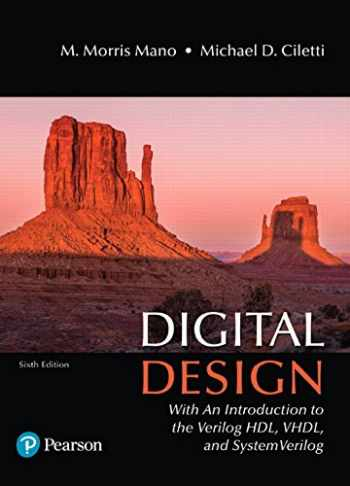 9780134549897-0134549899-Digital Design: With an Introduction to the Verilog HDL, VHDL, and SystemVerilog (6th Edition)