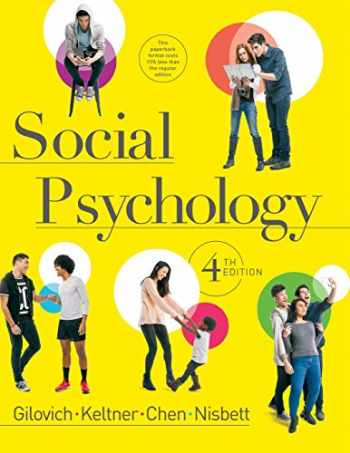 9780393906073-0393906078-Social Psychology (Fourth Edition)