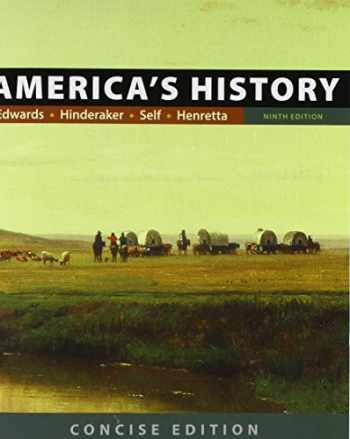 9781319059538-1319059538-America's History: Concise Edition, Combined Volume