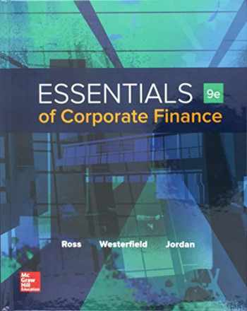 9781259697456-1259697452-Essentials of Corporate Finance with Connect