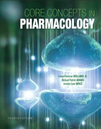 9780133449815-0133449815-Core Concepts in Pharmacology (4th Edition)