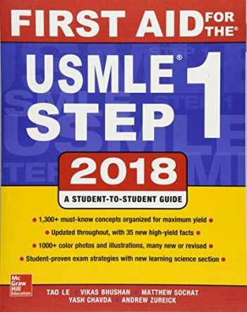 9781260116120-1260116123-First Aid for the USMLE Step 1 2018, 28th Edition