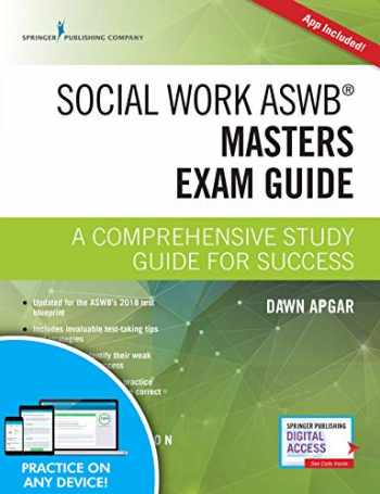9780826147110-0826147119-Social Work ASWB Masters Exam Guide, Second Edition: A Comprehensive Study Guide for Success