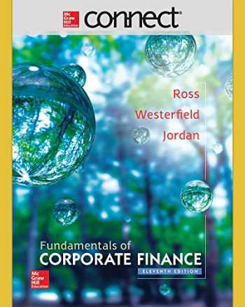 9781259289392-1259289397-Connect 1 Semester Access Card for Fundamentals of Corporate Finance