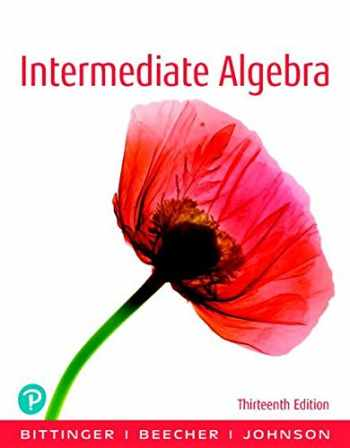 9780134679389-0134679385-Intermediate Algebra Plus NEW MyLab Math with Pearson eText -- 24 Month Access Card Package (13th Edition) (What's New in Developmental Math)