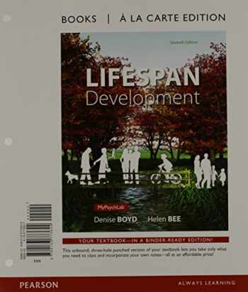 9780133773644-0133773647-Lifespan Development, Books a la Carte Edition (7th Edition)