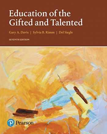 9780133827101-0133827100-Education of the Gifted and Talented (7th Edition) (What's New in Special Education)